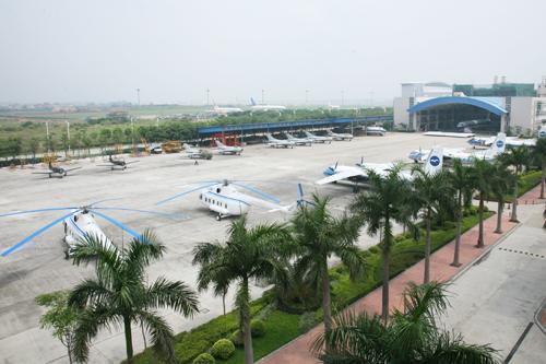 广州民航职业技术学院校园风光2