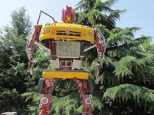 西安汽车科技学院(原:西安汽车科技职业学院)校园风光3