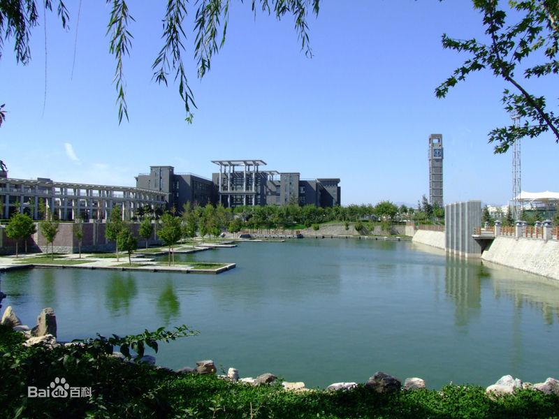 北京工商大学校园风光1