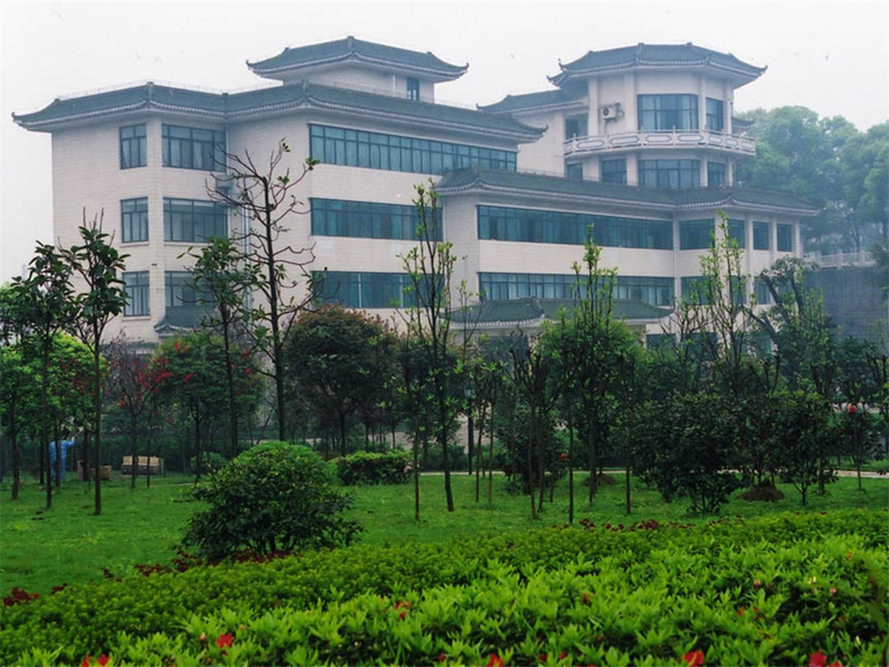 陆军军医大学校园风景3