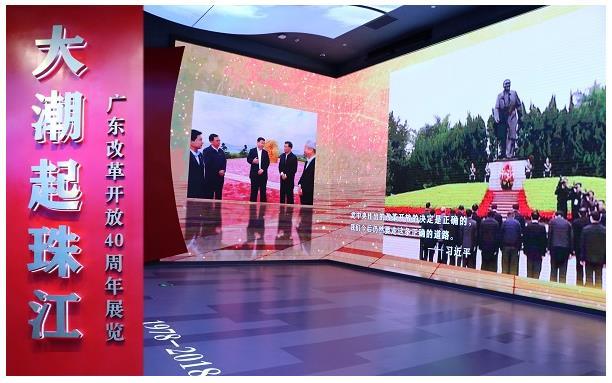 【广东培正】我校党总支书记赴深圳参观广东改革开放40周年展览