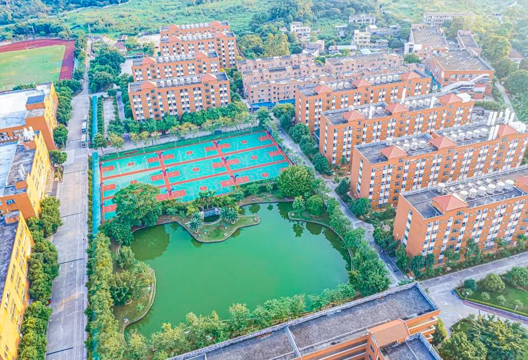 广州南洋理工职业学院校园风光3