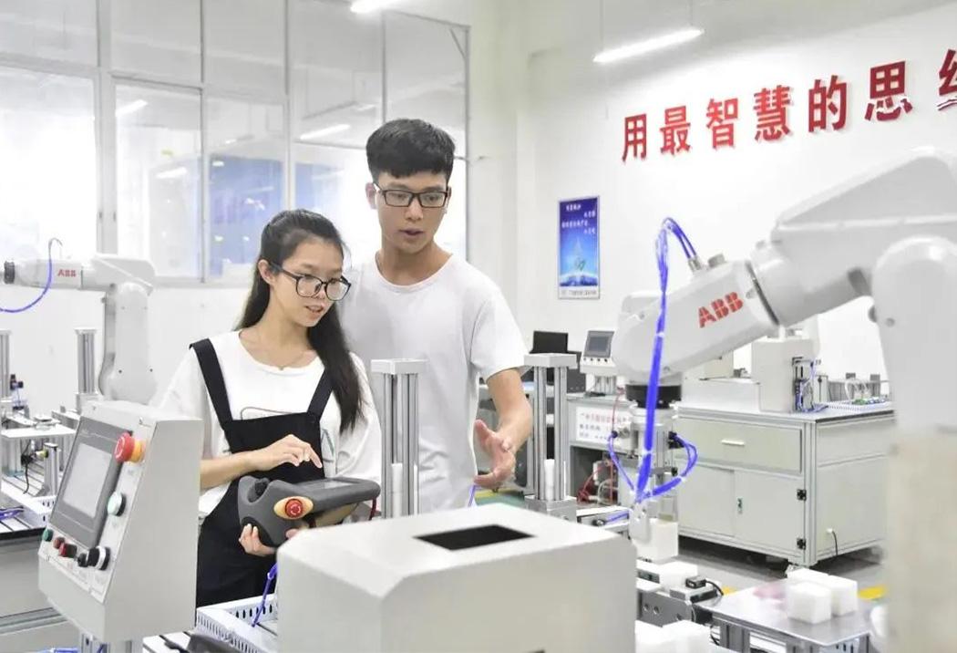 广州南洋理工职业学院校园风光5