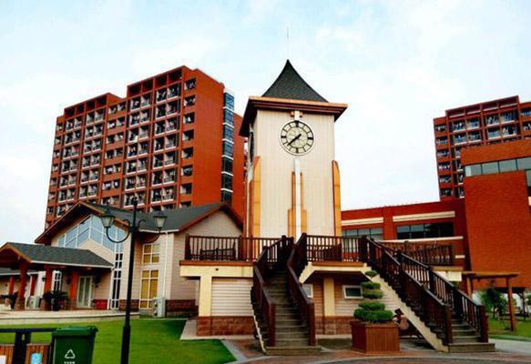 上海旅游高等专科学校校园风光3