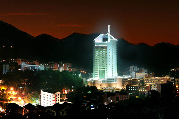 重庆邮电大学(中外合作办学专业)校园风光2