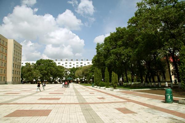 黑龙江职业学院校园风光1