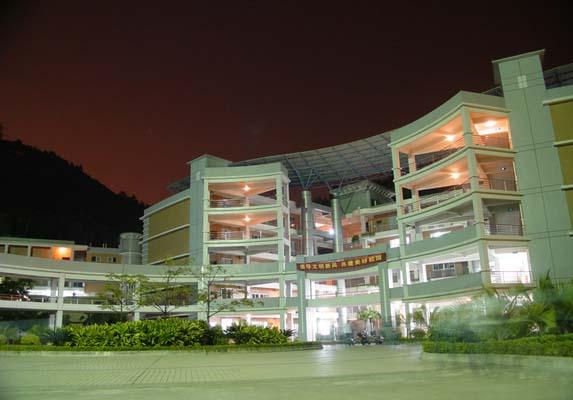 广州番禺职业技术学院(中外合作办学专业)校园风光2
