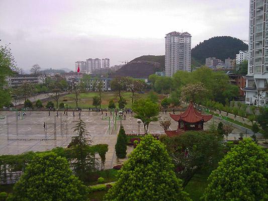 贵州电子信息职业技术学院校园风光4