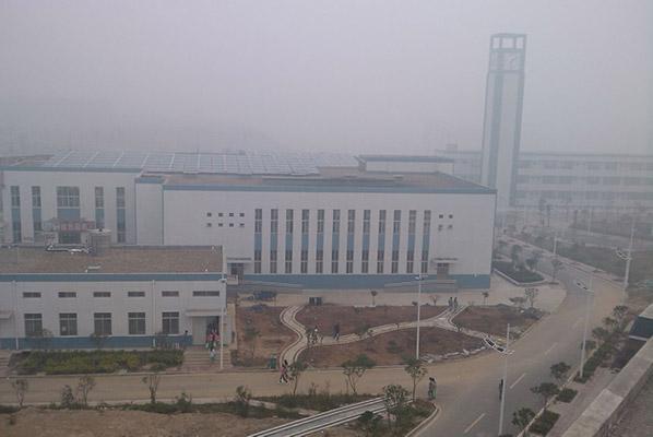 襄阳职业技术学院校园风光1
