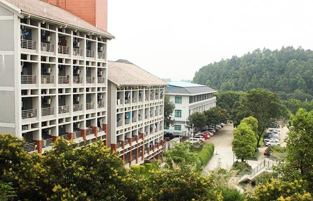 广东东软学院学生宿舍