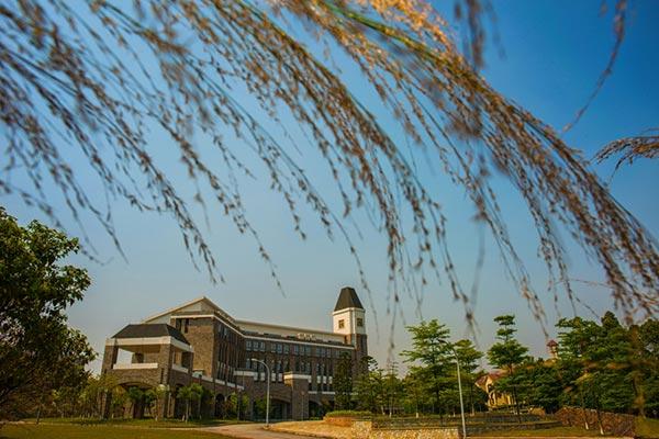 广东东软学院春色