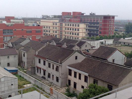 上海震旦职业学院校园风光1