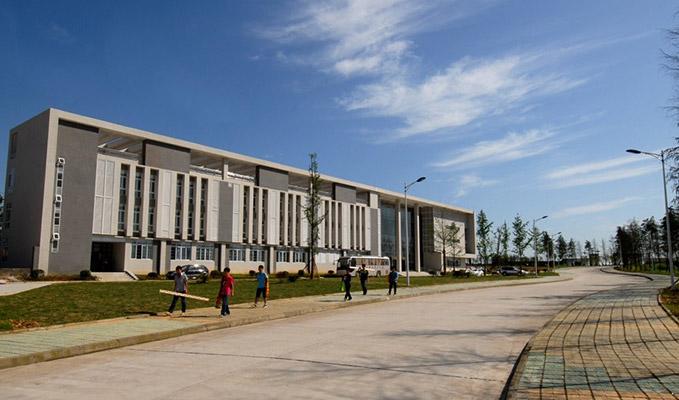 南充职业技术学院校园风光2