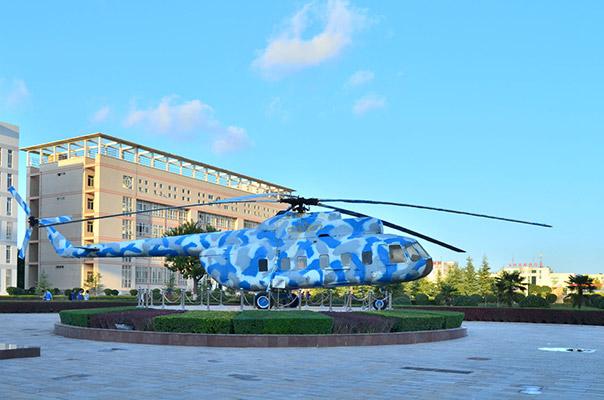 西安航空职业技术学院校园风光3