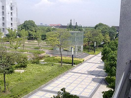 上海中侨职业技术学院校园风光2