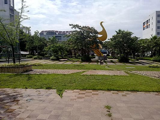 上海中侨职业技术学院校园风光5