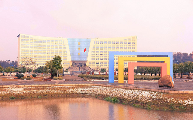 江西应用技术职业学院校园风光2