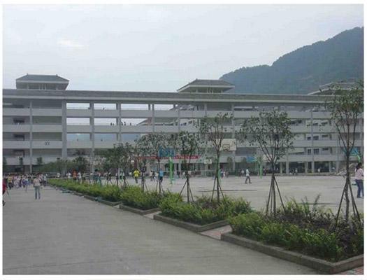 雅安职业技术学院校园风光5