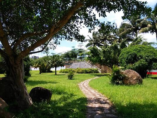 海南外国语职业学院校园风光3