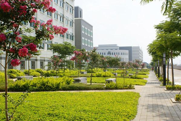 厦门华天涉外职业技术学院校园风光3