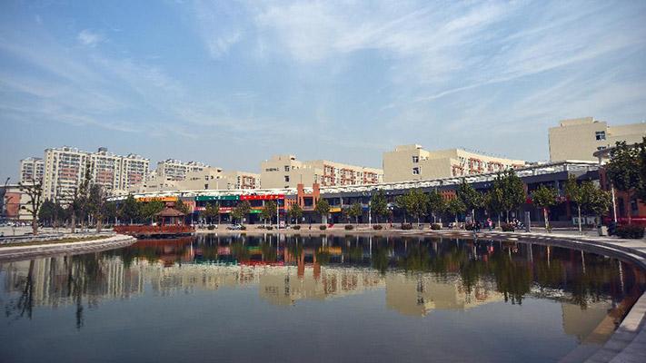 河南经贸职业学院校园风光5