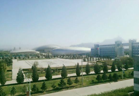 乌海职业技术学院校园风光2