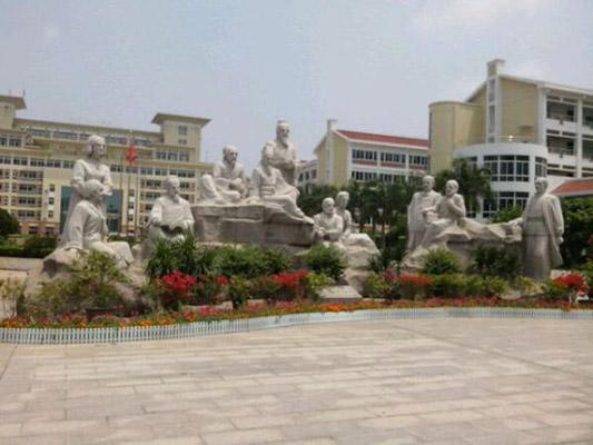 漳州卫生职业学院校园风光2